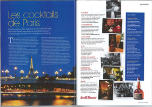 Les Cocktails de Paris Magazine Promotion